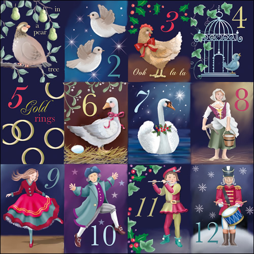12 Days Of Christmas Images 50% off – 12th day of xmas! sounds of ...