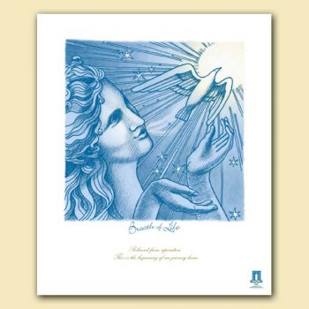 Breath of Life - Lithograph
