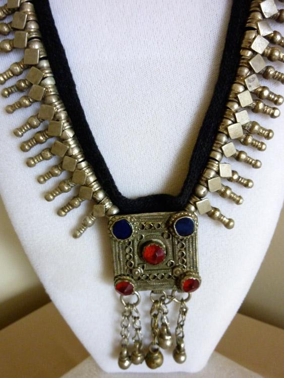 Silver Lapis Necklace