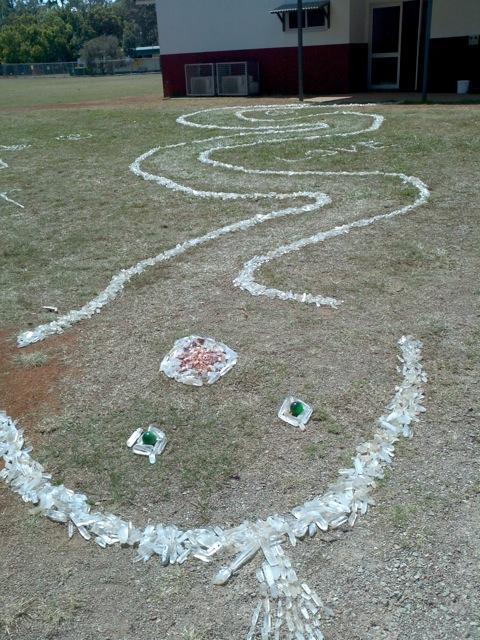 Serpent honouring Solar Master Skull[1]